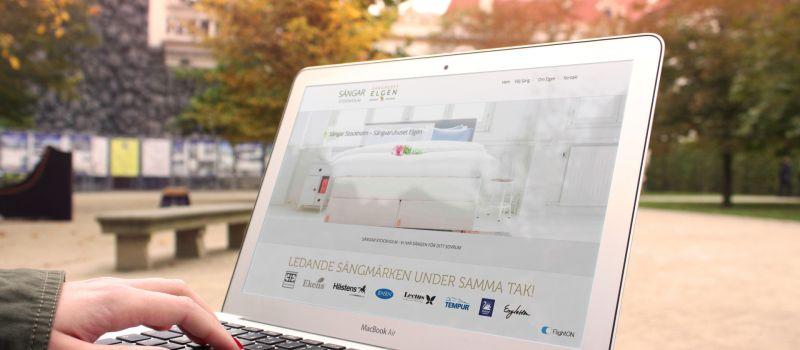 sökmotoroptimering Sängar Stockholm Elgen